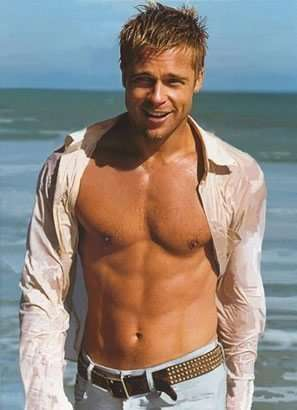 brad-pitt-six-pack-abs