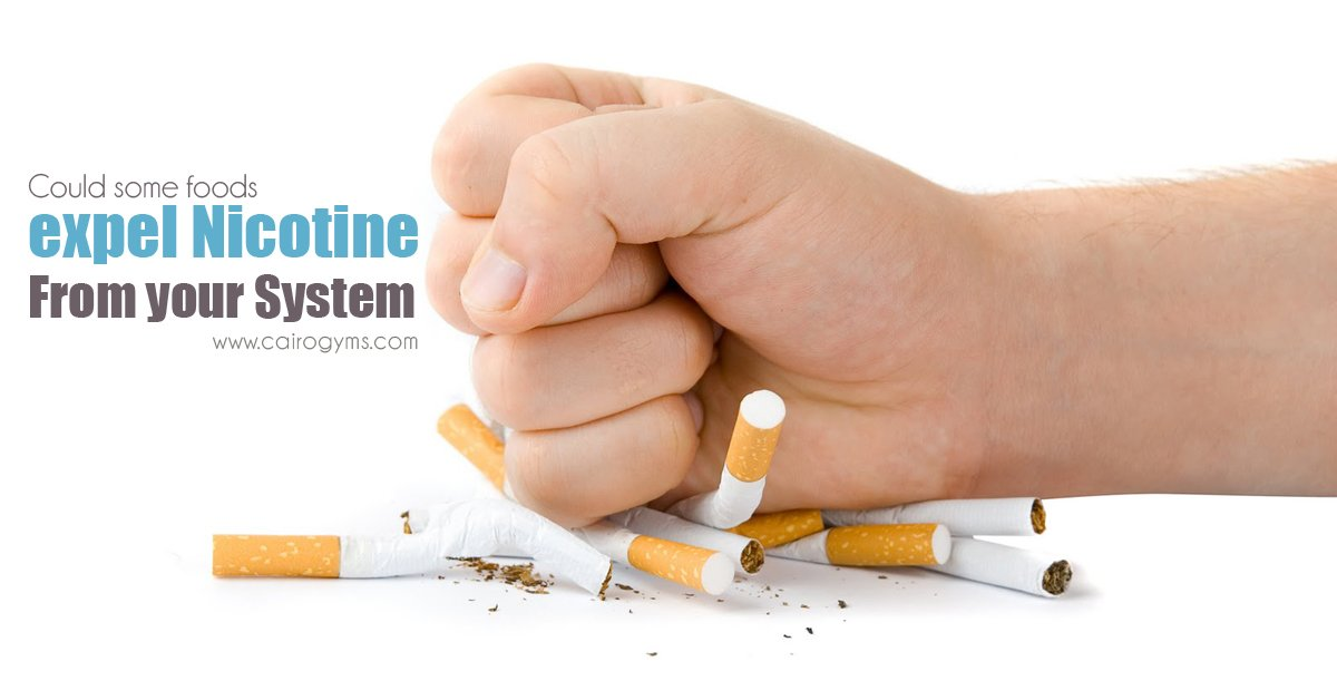 how to clean the body of nicotine