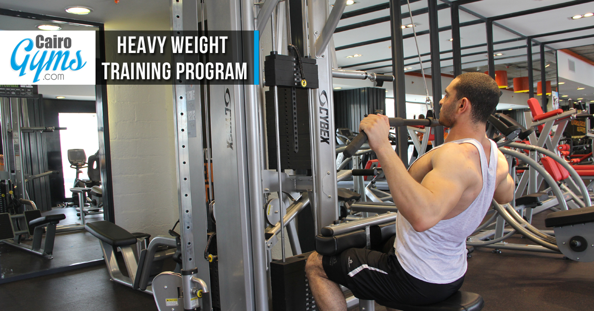 Heavy Weight Training Program