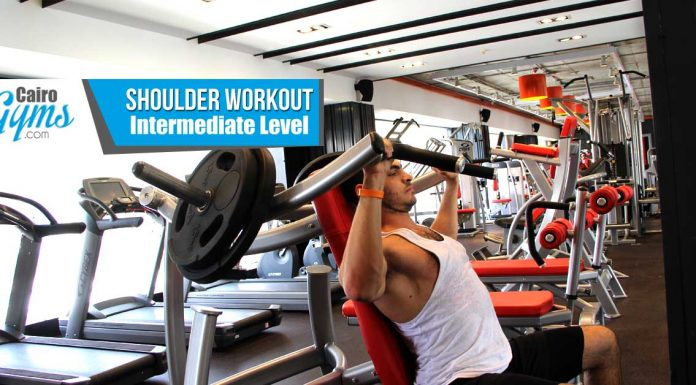 Shoulder Workout Intermediate