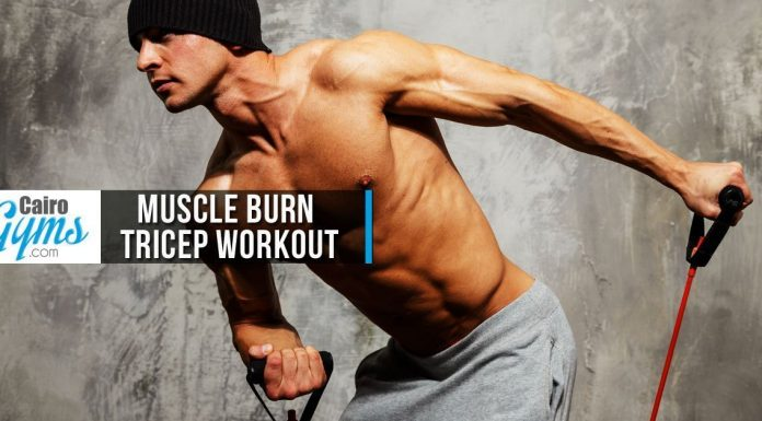 Muscle Burn Tricep Workout