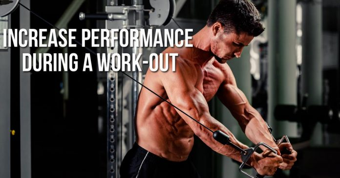 Increase performance during a work-out