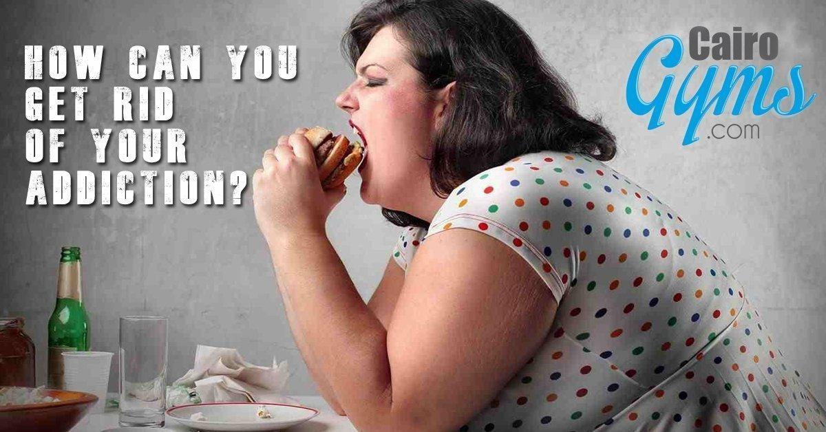 Fat Woman eats Junk