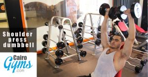 Shoulder press dumbbell 2
