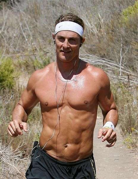 matthew mcconaughey 6 packs