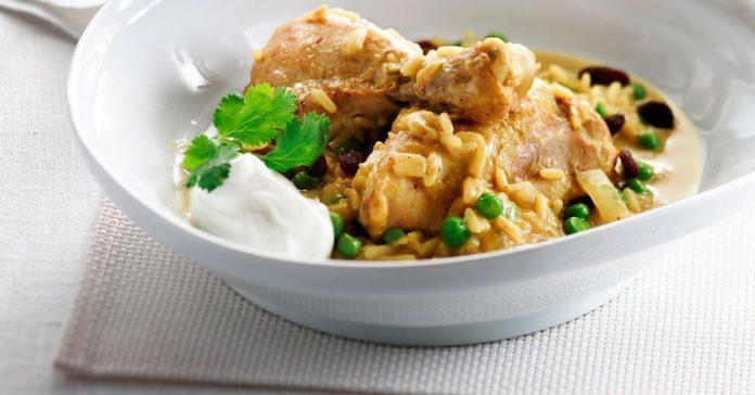 Chicken-curry Main