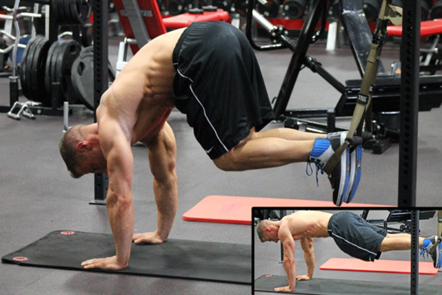 Suspended Reverse Crunch
