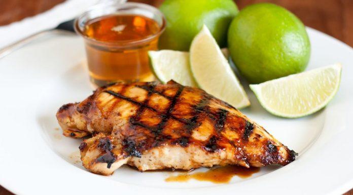 grilled honey chicken