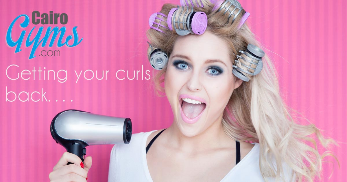 Getting your curls back