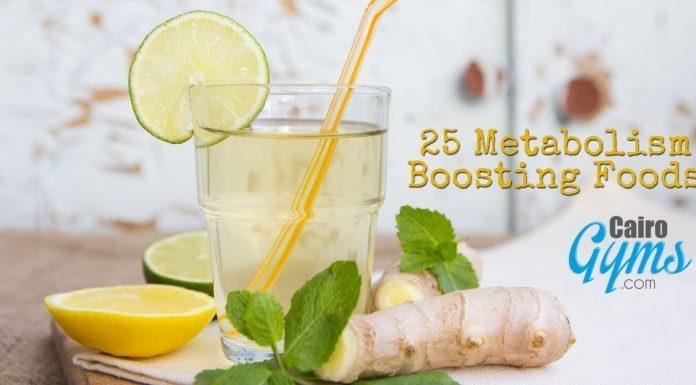 25 Metabolism Boosting Foods