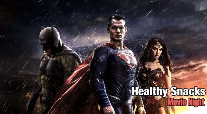 Healthy Snacks-Batman-Superman
