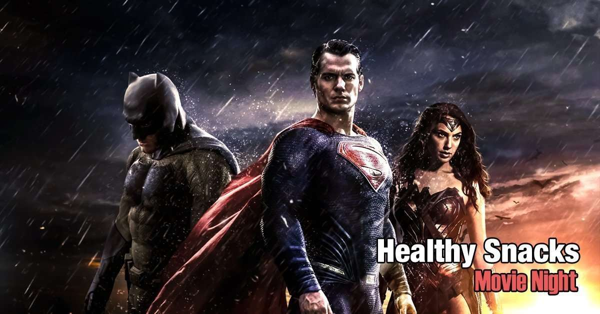 Healthy Snacks-Batman-Superman