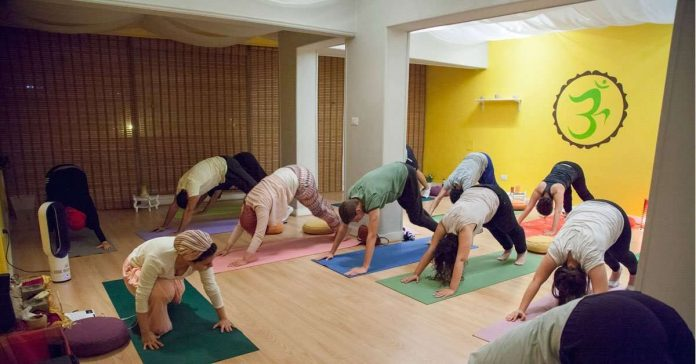 The breath of life with the help of Yoga