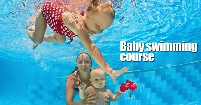 baby swimming course