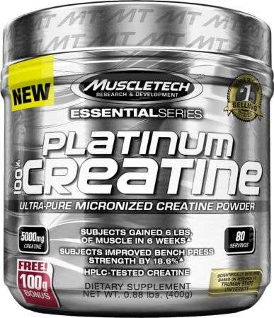 Muscle Tech Platinum 100% Creatine