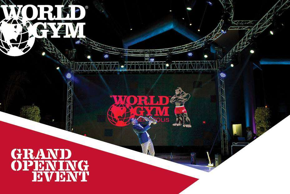 World Gym grand opening