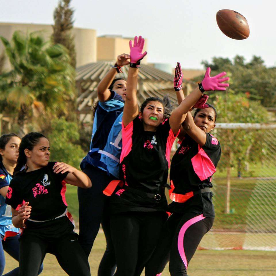 the Egyptian Flag Football League