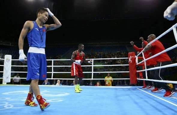 Boxer Lu Bin mistakenly thought he won