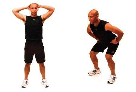 half squats