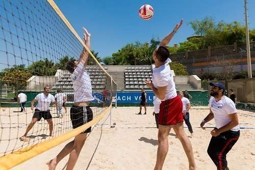 Corporate Games - Beach Volly