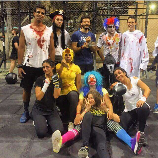 fit squad halloween