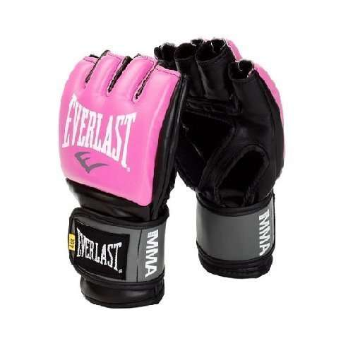 MMA PRO STYLE GRAPPLING GLOVES - Pink - 4oz