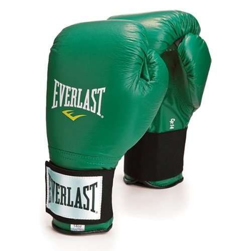 TRAINING GLOVES VELCRO - Green 10 OZ