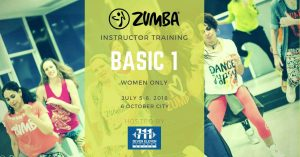 Zumba training in Egypt