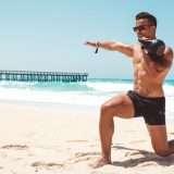 Bruclee Beach Workout