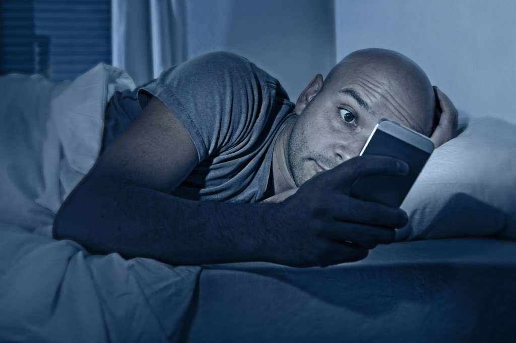 Internet in bed