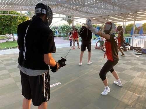 Yara Sharkawy - Fencing